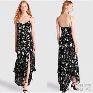 POLO RALPH LAUREN Floral-Print Silk Maxidress
